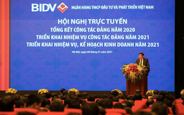 Lợi nhuận BIDV 2020 giảm 16%