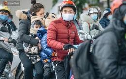 Cập nhật: Hàng trăm ngàn học sinh các tỉnh thành trên cả nước nghỉ học vì rét đậm, rét hại
