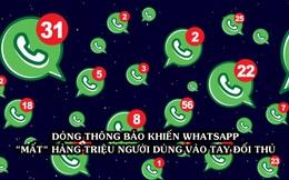 Dòng thông báo 'biếu không' hàng triệu người dùng cho đối thủ của WhatsApp: Yêu cầu chủ tài khoản cho phép thu thập dữ liệu, nếu không sẽ bị xóa sổ