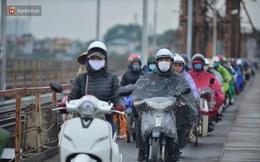 Từ đêm mai, không khí lạnh tiếp tục tràn về, Hà Nội trở rét và có mưa