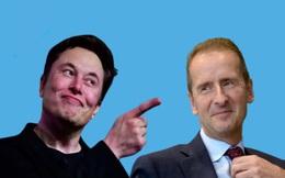CEO Volkswagen 'tuyên chiến' với Elon Musk