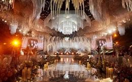 Choáng ngợp đám cưới 'khủng' tại lâu đài dát vàng ở Ninh Bình
