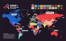 Thương hiệu ôtô nào được tìm kiếm nhiều nhất năm 2020?