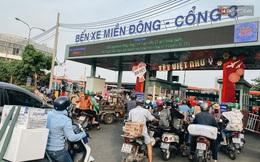 Sinh viên ùn ùn rời Sài Gòn về quê ăn Tết sớm, bến xe đông nghẹt khách