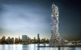 """New York sắp có tòa nhà dân cư """"bể chứa cacbon"""" khổng lồ, cao 737m, trồng 1.600 cây xanh, nằm giữa đảo"""