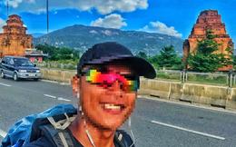"""Chàng trai đi bộ xuyên Việt 0 đồng bị chỉ trích vô ơn, ăn cơm miễn phí nhưng nhận xét """"cơm khô"""", """"khó ăn"""""""