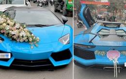 Chiếc siêu xe Lamborghini mui trần đầu tiên về Việt Nam hiện ra sao?