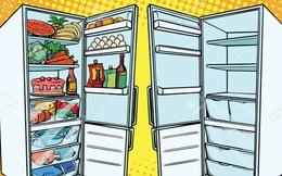 """Tủ lạnh """"đầy ự"""" hay tủ lạnh """"trống không"""": Cái nào sẽ tốn điện hơn?"""