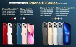 Đã có thể đặt trước iPhone 13 Series tại FPT Shop từ hôm nay