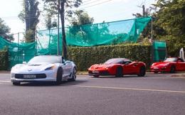 Hành trình siêu xe đầu tiên lăn bánh hậu giãn cách: Đi từ TP.HCM đến Hồ Tràm, doanh nhân Hoàng Kim Khánh cầm lái Ferrari độc nhất Việt Nam