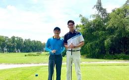 """Cường Đô La lần đầu gặp mặt bạn trai Hương Giang trên sân golf, nhưng sao """"đại gia phố núi"""" lại bị dìm hàng thế này?"""