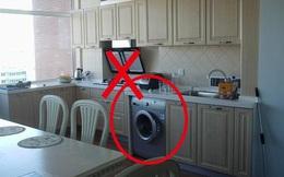 Chuyên gia phong thủy tiết lộ: Máy giặt có thể đặt nhiều nơi nhưng tuyệt đối tránh vị trí này!