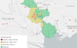 TP.HCM công bố cấp độ dịch: 9 quận, huyện là vùng xanh, không có vùng đỏ