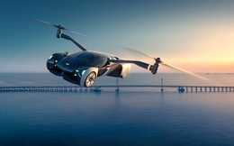 Độc đáo chiếc xe hơi vừa biết chạy vừa biết bay, dự kiến mở bán năm 2024