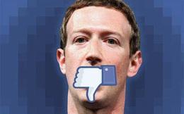 Facebook: Nhà dột từ… Mark Zuckerberg