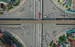 Ấn tượng hình ảnh những nút giao nhiều tầng, bề thế, xe chạy như 'châu Âu' ở Hà Nội