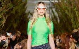 Con gái Steve Jobs khí chất ngay lần đầu diễn thời trang