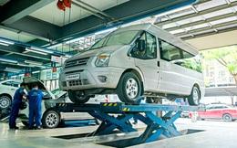 Hãng ôtô bảo dưỡng xe tại nhà