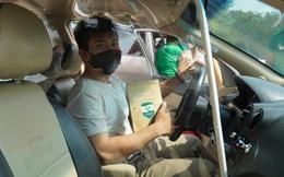 GrabCar đã chở khách tại TPHCM, xe 4 chỗ chỉ nhận 1 khách để đảm bảo an toàn mùa dịch