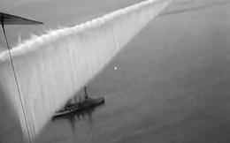 """Vào năm 1923, quân đội Mỹ đã tạo ra một bức tường lớn trên bầu trời ngăn cách đại dương, có thể làm """"mù mắt"""" tàu chiến!"""