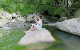 """Thác Savin - nơi lý tưởng để tắt smartphone, ngồi """"chill"""" giữa thiên nhiên, tha hồ bắt cá tắm suối cuối tuần"""