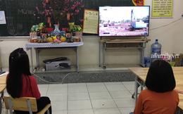 Không khí đón giao thừa tại trường tiểu học Xuân Phương, cái Tết đáng nhớ của thầy trò và phụ huynh trong khu cách ly