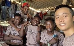 Bất ngờ được nhắc tên trên sóng truyền hình vào dịp Tết Nguyên Đán, YouTuber làm thiện nguyện ở châu Phi là ai?
