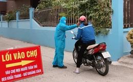 TP Hải Dương khuyến khích người dân không ra khỏi nhà, chỉ xác nhận cho qua chốt kiểm dịch khi đi cấp cứu