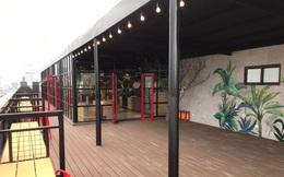 """Góc """"trường nhà người ta"""": ĐH Ngoại thương vừa khai trương quán cafe - bar rooftop cực kỳ sang chảnh, cải tạo khu tự học và sinh hoạt chung đẹp long lanh"""