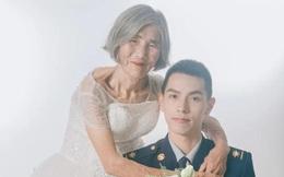 """Sự thật phía sau """"bộ ảnh cưới"""" của chàng lính cứu hoả 24 tuổi và cụ bà 85 tuổi"""