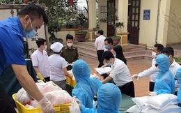 TP Hải Phòng tiếp tế gần 8 tấn gạo, thịt cho người dân khu phong tỏa
