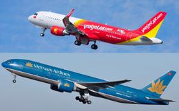 Tháng Tết, Vietjet Air bất ngờ vượt qua Vietnam Airlines, trở thành hãng bay nhiều nhất ngành hàng không