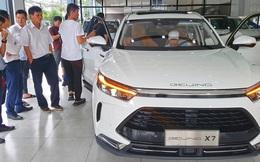 Ô tô Trung Quốc ồ ạt về Việt Nam tháng đầu năm 2021