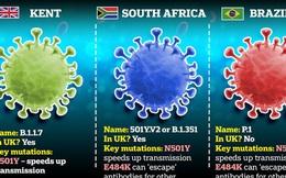 Biến thể virus SARS-CoV-2 mới ở Anh lại tiếp tục biến thể