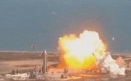 Tàu Starship của Elon Musk lại nổ khi hạ cánh