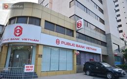 Ảnh, clip: Phong toả, phun khử khuẩn ngân hàng tại Hà Nội - nơi làm việc của ca mắc Covid-19 thứ 22