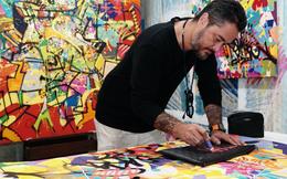 Nghệ sĩ gốc Việt đưa nét Tết xưa vào nghệ thuật đường phố graffiti