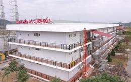 Chỉ sau 7 ngày thi công, bệnh viện dã chiến số 3 chính thức hoàn thành, bàn giao cho tỉnh Hải Dương