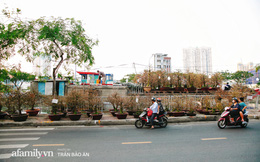"""Thuyền hoa của người miền Tây """"chở Tết"""" cho người Sài Gòn đã cập Bến Bình Đông, lượng khách đổ về ngày một đông dịp giáp Tết"""