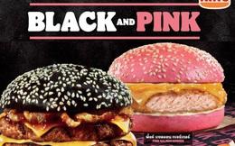 """""""Hồng đen trong bánh mì bạn đó"""": Burger King ra mắt phiên bản """"black & pink burger"""" nhân dịp Valentine"""