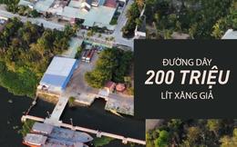 400 cảnh sát đồng loạt khám xét 10 địa điểm liên quan đường dây cung cấp 500.000 lít xăng giả 1 ngày
