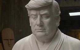 """Tượng ông Trump ngồi thiền gây sốt ở Trung Quốc, dân tình đổ xô mua với hy vọng sự nghiệp sẽ """"vĩ đại trở lại"""""""