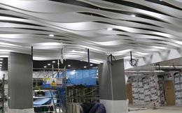 Hé lộ kiến trúc ấn tượng bên trong nhà ga ngầm Ba Son của tuyến Metro số 1