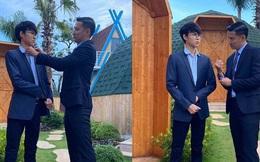 Con trai riêng của Huy Khánh 16 tuổi đã cao vượt bố, học trường quốc tế hơn nửa tỷ, sở hữu bất động sản nhưng gây chú ý về cách xài tiền