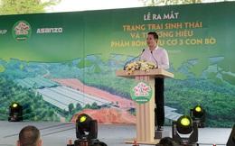 """Phân hữu cơ Ba Con Bò ra mắt, chủ tịch Asanzo: """"Tỉnh nào có trang trại của chúng tôi, nông dân xung quanh chắc chắn sẽ giàu"""""""