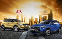 Kia lần đầu bán vượt Toyota tại Việt Nam dù Vios, Camry và Innova thi nhau 'gánh' doanh số
