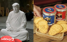 """Cực """"mặn"""": 6 sản phẩm hài hước lấy cảm hứng từ ông Donald Trump, hàng Việt cũng góp mặt"""