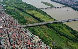 Khu vực bãi sông Hồng nào được đề xuất phát triển đô thị