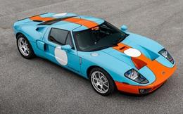 Chiếc Ford GT Heritage Edition 2006 sắp được bán đấu giá, xấp xỉ 605.000 USD: Mới lăn bánh 4km, được bảo quản cực tốt