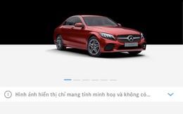 Người Việt có thể mua xe Mercedes tiền tỷ qua mạng